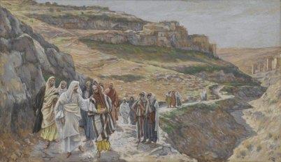Jesus discourse with disciples James Joseph Jacques Tissot Public domain, Brooklyn Museum
